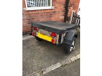 Small Car Trailer 4ft x 3ft