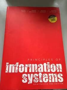 Principles of Information Systems 2nd Edition Parramatta Parramatta Area Preview