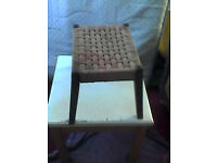 stool just needs upcycling £10 bargain could drop off locall