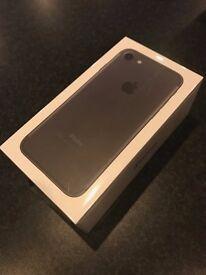 Sealed iPhone 7 256GB Matt Black Unlocked - MN972B/A