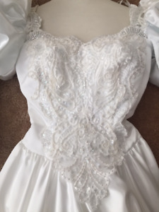 Wedding dress - approx size 1 or 3 petite