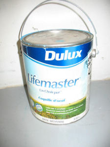 Dulux acrylic latex interior paint - tinted medium blue - 1 gal