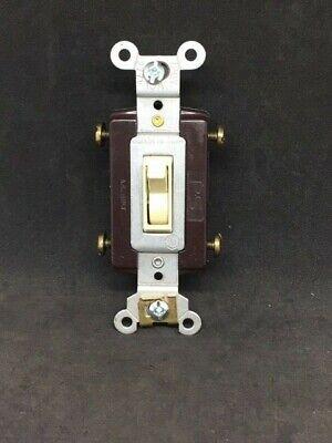 Pass Seymour Legrand 664-sig 4-way Toggle Switch 15a 120277 Vac Free Shipping