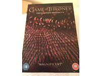BNIB Game of Thrones seasons 1-4 DVD box set