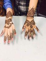 Henna mehendi tattoos artist
