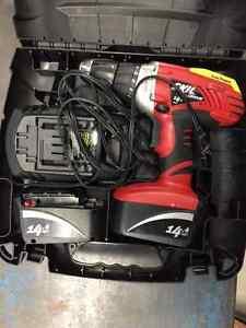 14.4V SKILL Cordless Drill - 2 Batteries
