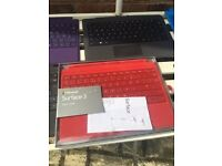 Surface type keypads four difrent colours