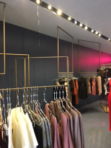 Clothing Fashion Store Fixtures Furniture and Equipment For sale