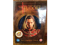 """DVD box set of """"The Tudors"""": new, nevver been opened"""