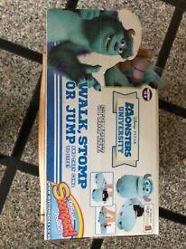 Monsters University Stompeez Sully Slippers (Medium 13-2)