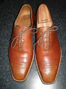 $1850 StefanoBi Brown Dress Oxfords 9