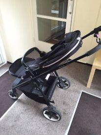 Cybex IRIS M-AIR Stardust Black, stroller, buggy