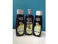 3 x NaturVital Hena Shampoo Black Colour Hair Mask - HARROW
