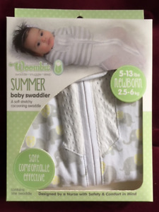 Woombie Summer Baby Swaddler -- BRAND NEW