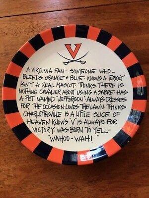 University of Virginia Fan Plate