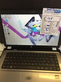 HP G6 Windows 7 Laptop, Wireless, HDMI, Boxed security and office packages