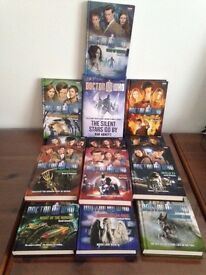 Dr Who BBC Books - Never been Read