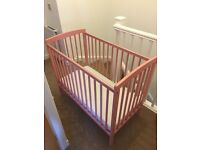 Kinder Valley Girls Space Saver Cot & Mattress
