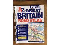 AZ Great Britain Road Atlas 2018 - new, unused