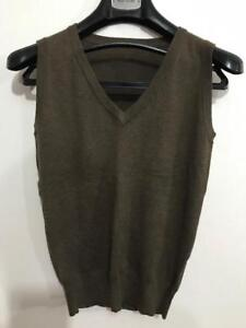 Womens Sleeveless Knit Vest Size S