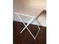 Ikea Haro White Folding Tables x 2