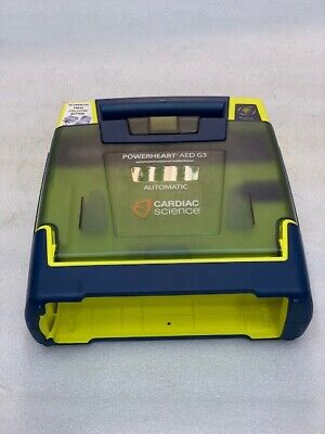 Cardiac Science Powerheart Aed G3 Trainer Wo Battery And Pad Used Good Cond