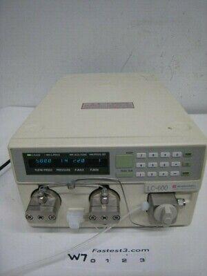 Shimadzu Lc-9a Hplc Liquid Chromatograph Lc-600