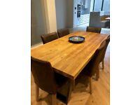 John Lewis Calia Range Dining Table for 8, in Oak