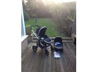 iCandy Peach 2016 Black Magic Pushchair and Carrycot