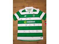 Signed Celtic Shirt 2016/17 Season