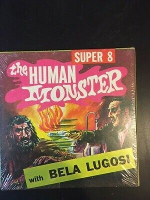 Super 8mm Film Brand New   Human Monster with Bela Legosi