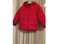 Boy red jacket from Next