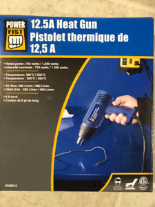 Power Fist 12.5 Amp Electric Heat Gun (model 8259210)