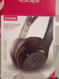 2 eScape Bluetooth headphones barely used *almost like new*