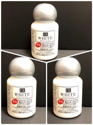 DAISO Japan ER White Medicated Whitening Essence Placenta Extract 3 pcs New F/S