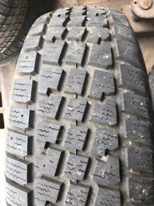 2 - X-Treme Avalanche Winter Tires with Great Tread - 225/70 R15