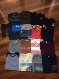 Mens Size S - just $5 ea or WHOLE T-shirt LOT $60