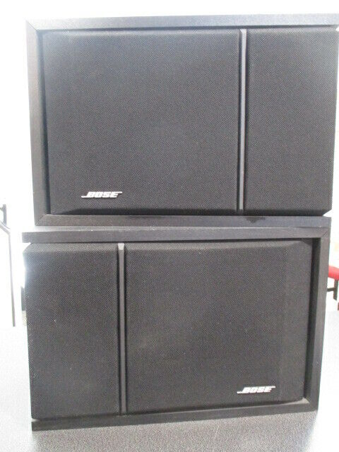 Bose 201 Series III - Direct-Reflecting Bookshelf Speaker Black- L and R  VGC