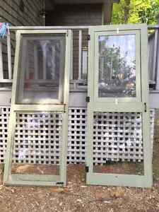 HAND CRAFTED WOOD SCREEN DOORS