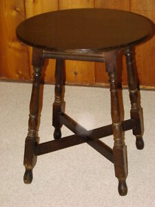 Oak Antique Side Table
