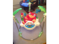 Jumperoo, great for pre-walking babies 6-12 months, good condition, offers considered