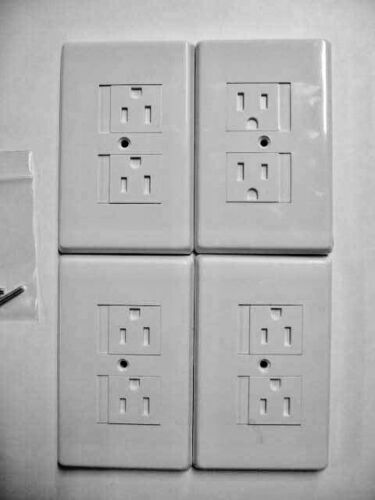 Set Of 4: Self Closing Outlet Covers