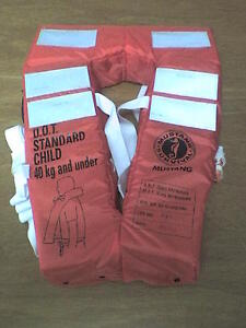 MD8015/MUSTANG VEST CAN. STD CHILD