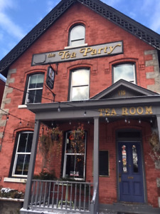 Busy cafe in the Byward Market for sale