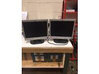 HP PC Monitors x 5