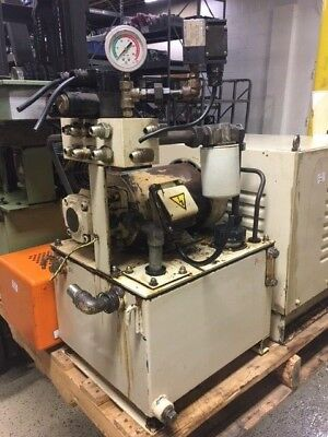 Nachi 3 HP Hydraulic Unit, Nachi Uni Pump UVD-1A-A3-22-4-6027B, READ DESCRIPTION