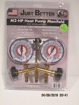 Jb Industries M2-hp 2-valve Brass Heat Pump Manifold M2-hp-316 Free Ship Nisp