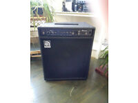 Ampeg BA 115 v2 1x15 Bass Amp with scrambler.