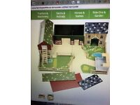 Toy farm - used , in good condition