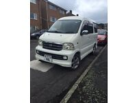 Daihatsu atrai 7 ideal little micro camper or 7 seater car or van, like Hijet, sparky, Suzuki